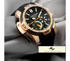 HK1083 GRAHAM CHRONOFİGHTER PRODİVE ROSE GOLD KASA