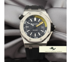 HK1099 AUDEMARS PİGUET ROYAL OAK OFFSHORE GÜMÜŞ KASA
