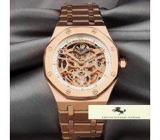 HK1098 AUDEMARS PİGUET ROYAL OAK İSKELET GOLD KASA