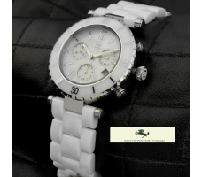HK1258 GUESS COLLECTİON GÜMÜŞ BAYAN SAATİ
