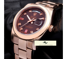 HK1197 ROLEX DAY DATE ROSE GOLD BAYAN SAATİ