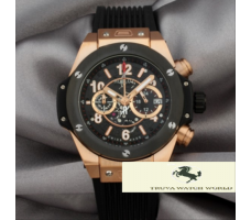 HK1054 HUBLOT BİG BANG SKELETON ROSE GOLD KRONOMETRE