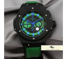 HK1080 HUBLOT BİG KİNG F1 LİMİTED EDİTİON YEŞİL