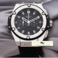 HK805 HUBLOT GENEVE KİNG POWER GÜMÜŞ KASA