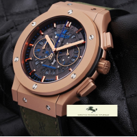 HK919 HUBLOT BİG BANG VENDOME İSKELET MAT ROSE