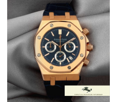 HK1029 AUDEMARS PİGUET ROYAL OAK LEO MESSİ LACİVERT